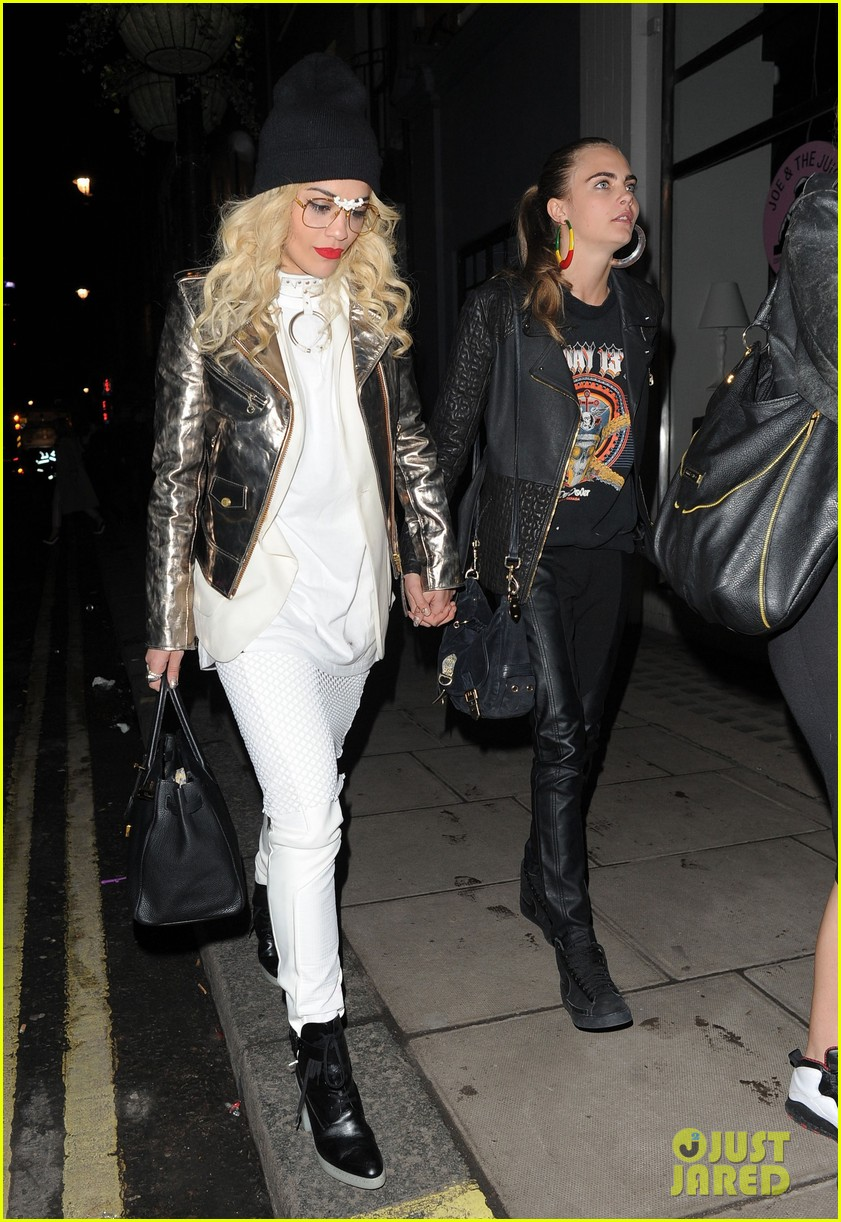 rita ora cara delevingne girls night out 102796026