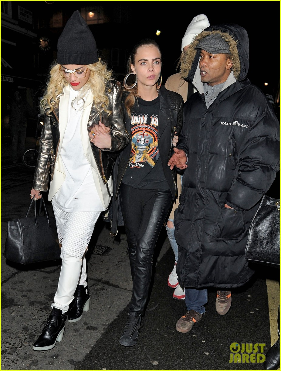 rita ora cara delevingne girls night out 122796028