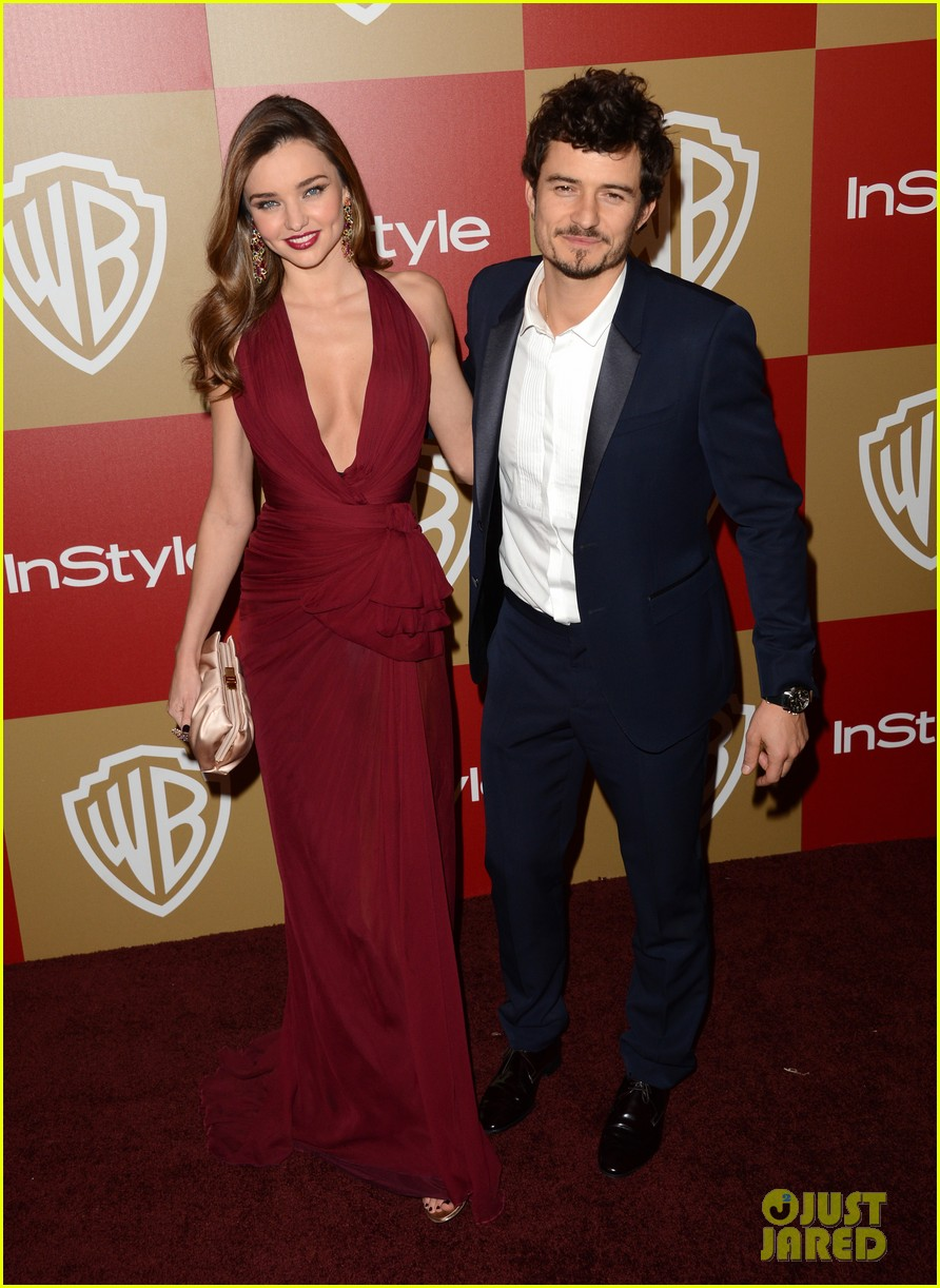 miranda kerr orlando bloom golden globes 2013 after party 042791298
