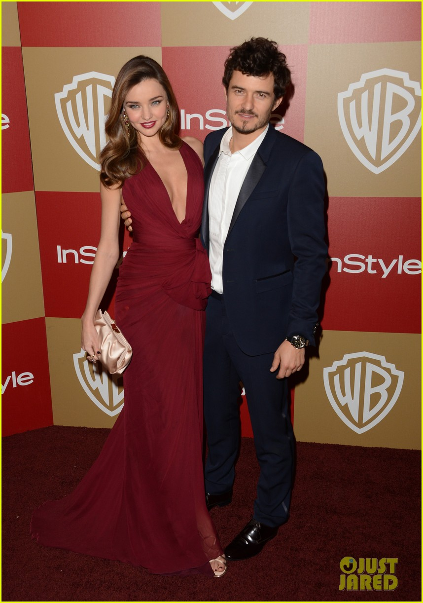 miranda kerr orlando bloom golden globes 2013 after party 102791304