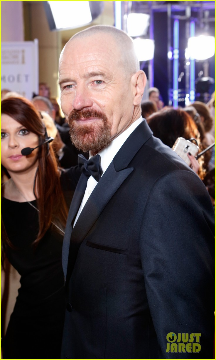 aaron paul bryan cranston golden globes 2013 red carpet 10