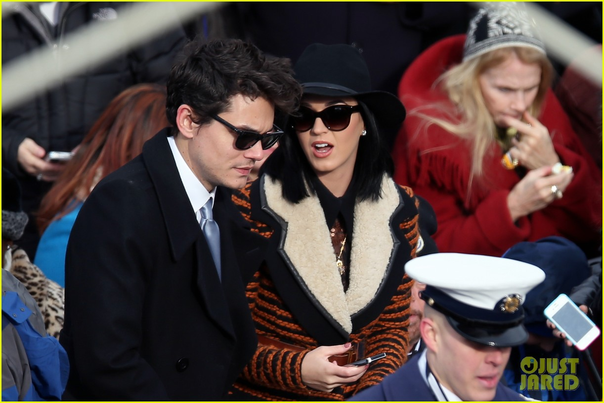 katy perry john mayer attend official presidential inaguration 012796106