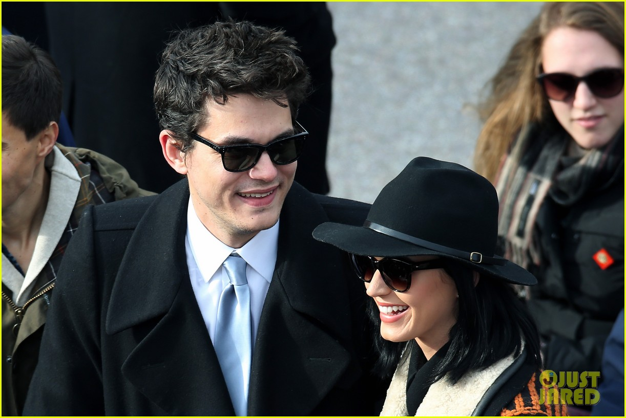 katy perry john mayer attend official presidential inaguration 042796109