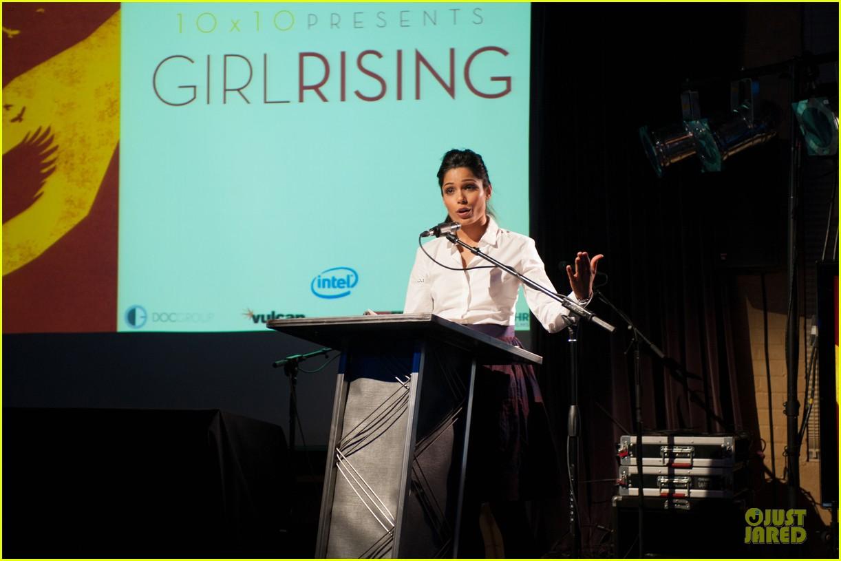 freida pinto girl rising sundance speaker 17