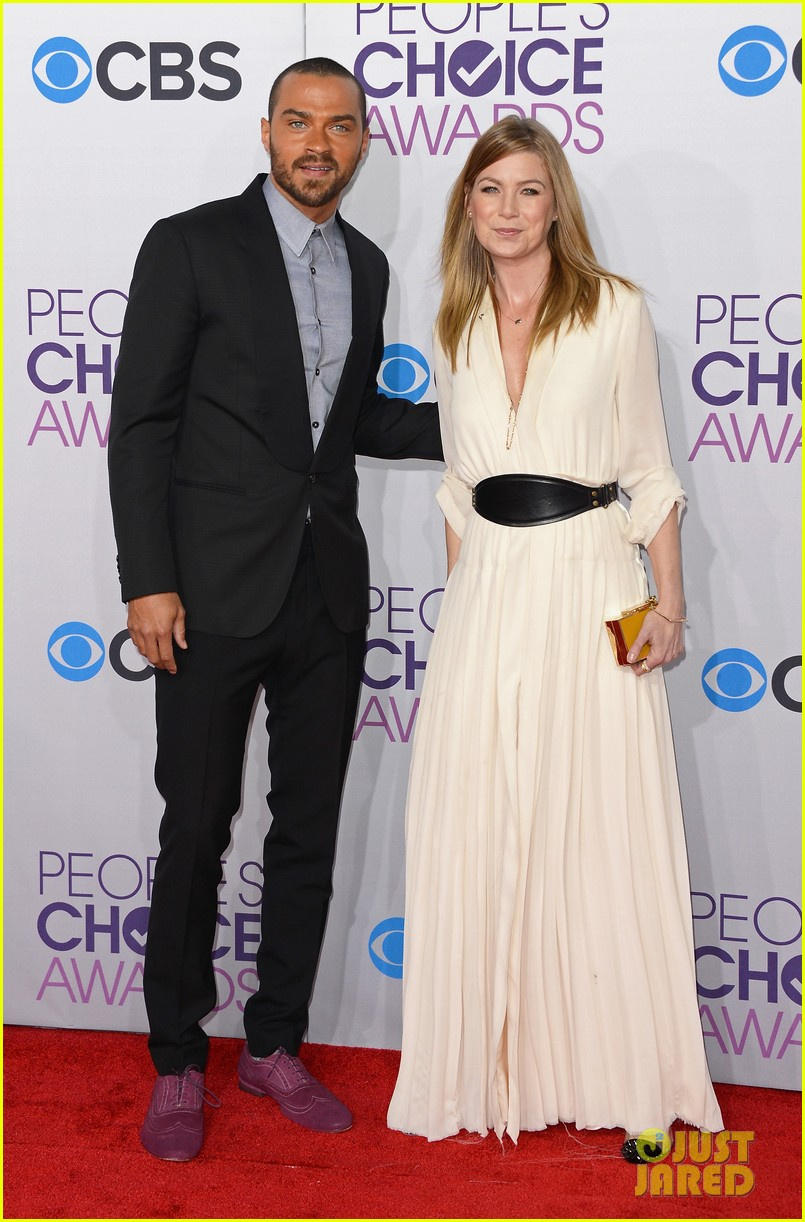 ellen pompeo jesse williams peoples choice awards 2013 05