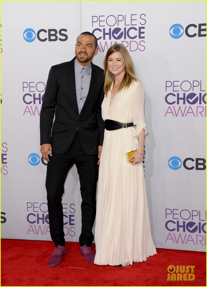 ellen pompeo jesse williams peoples choice awards 2013 092787877