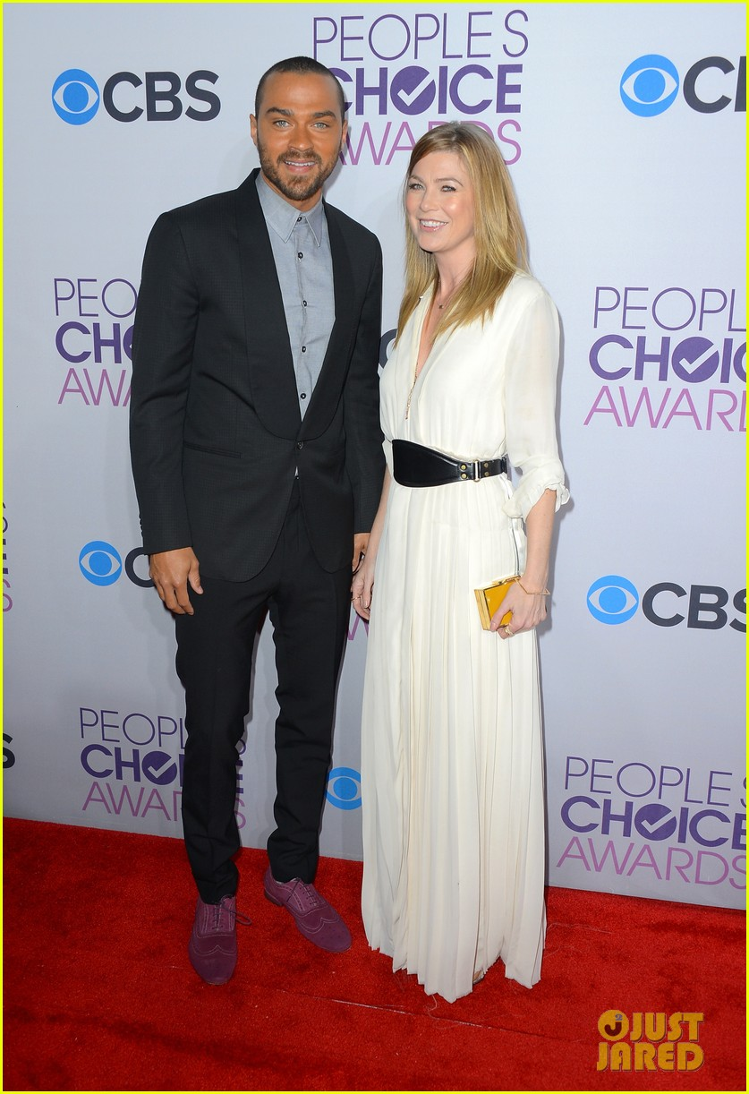 ellen pompeo jesse williams peoples choice awards 2013 102787878