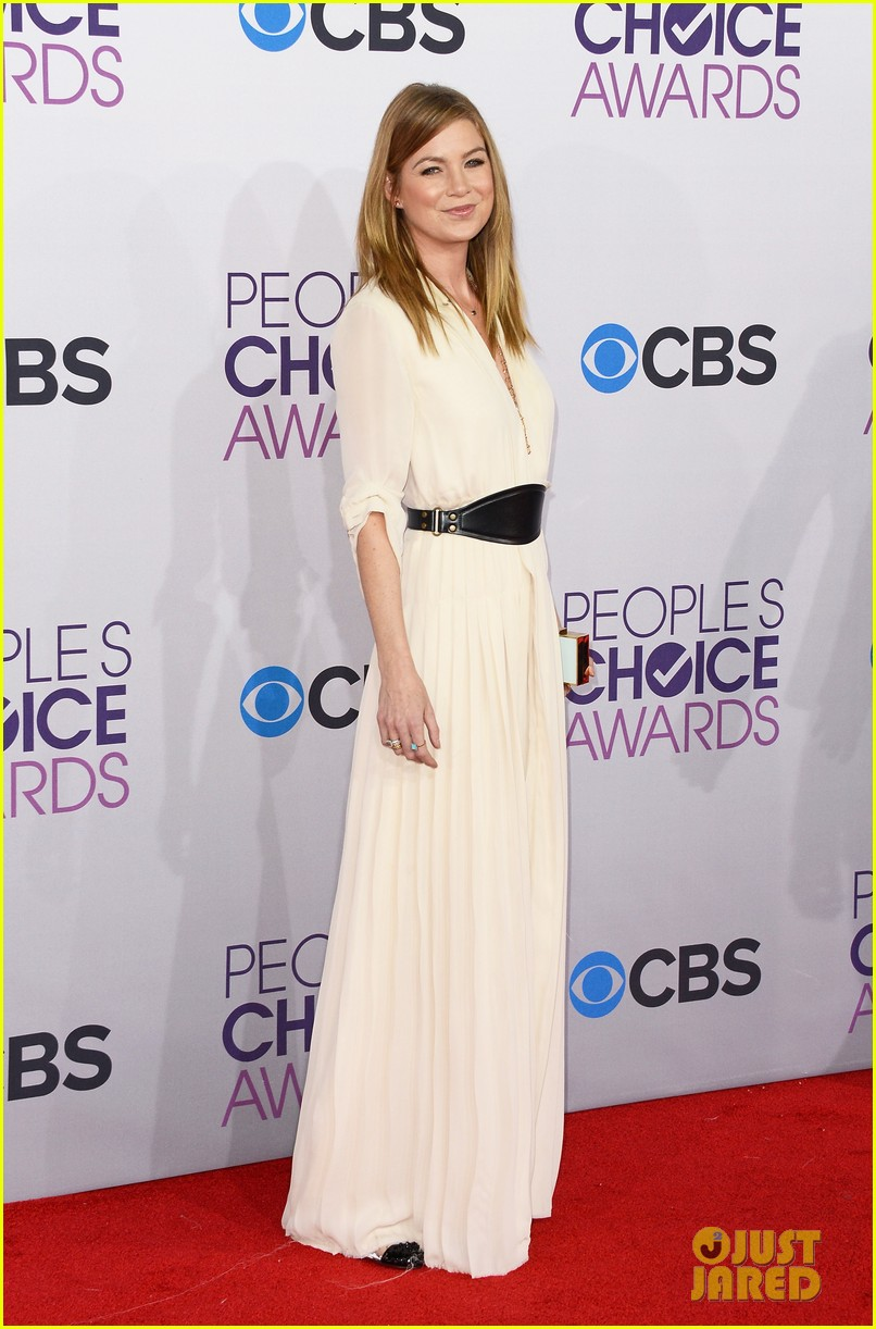 ellen pompeo jesse williams peoples choice awards 2013 142787882