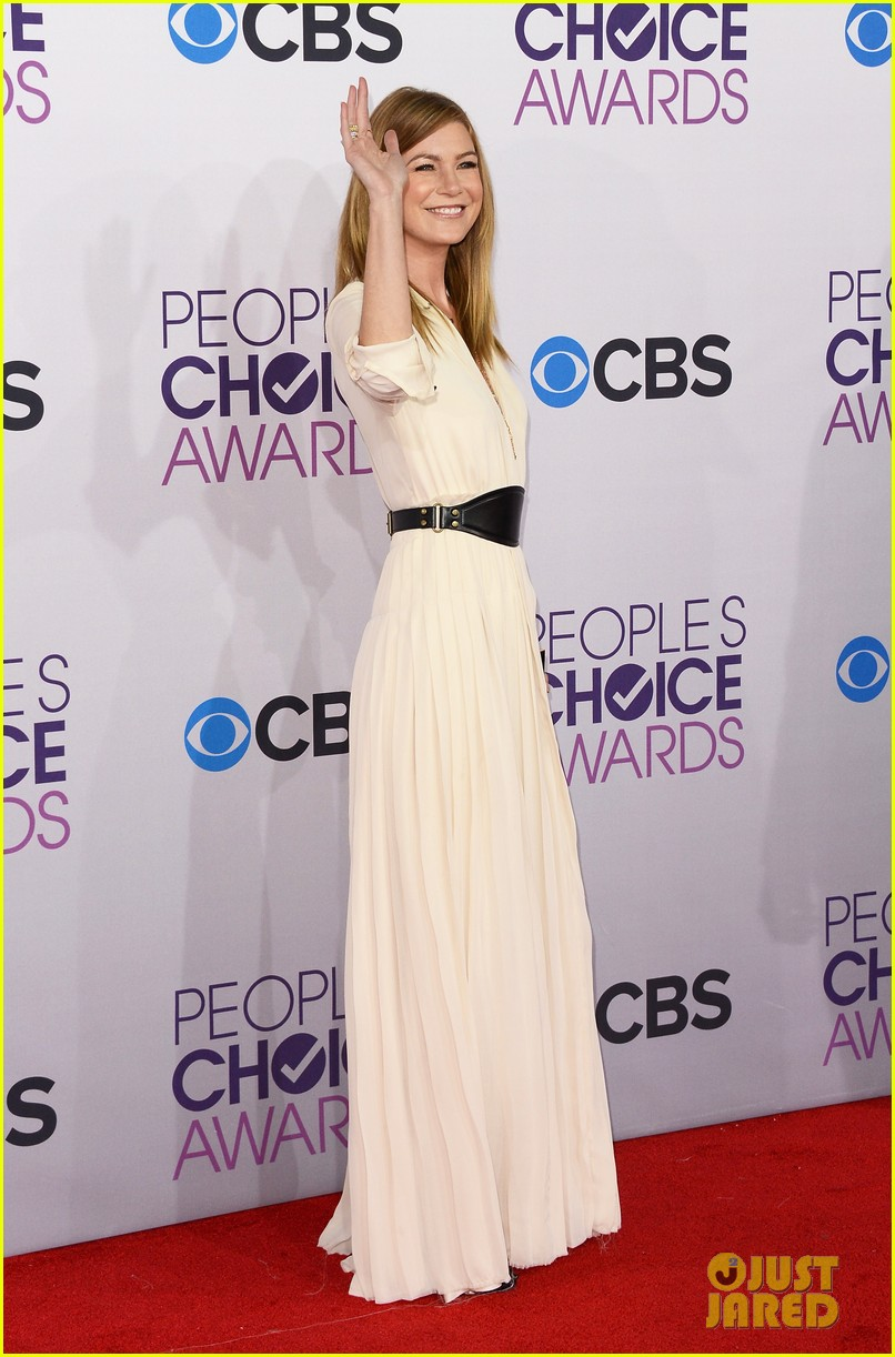 ellen pompeo jesse williams peoples choice awards 2013 152787883