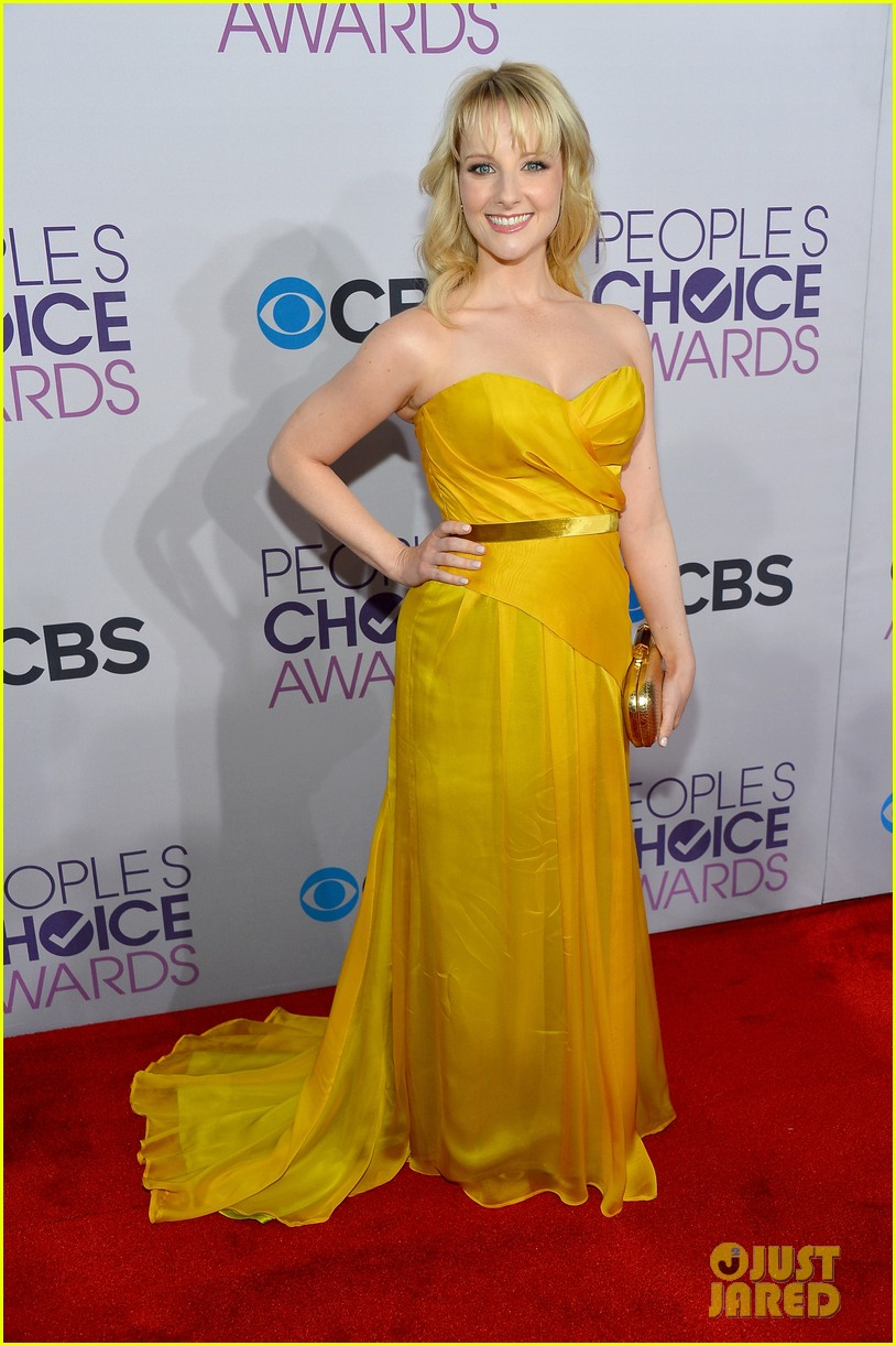 melissa rauch casey wilson peoples choice awards 2013 05