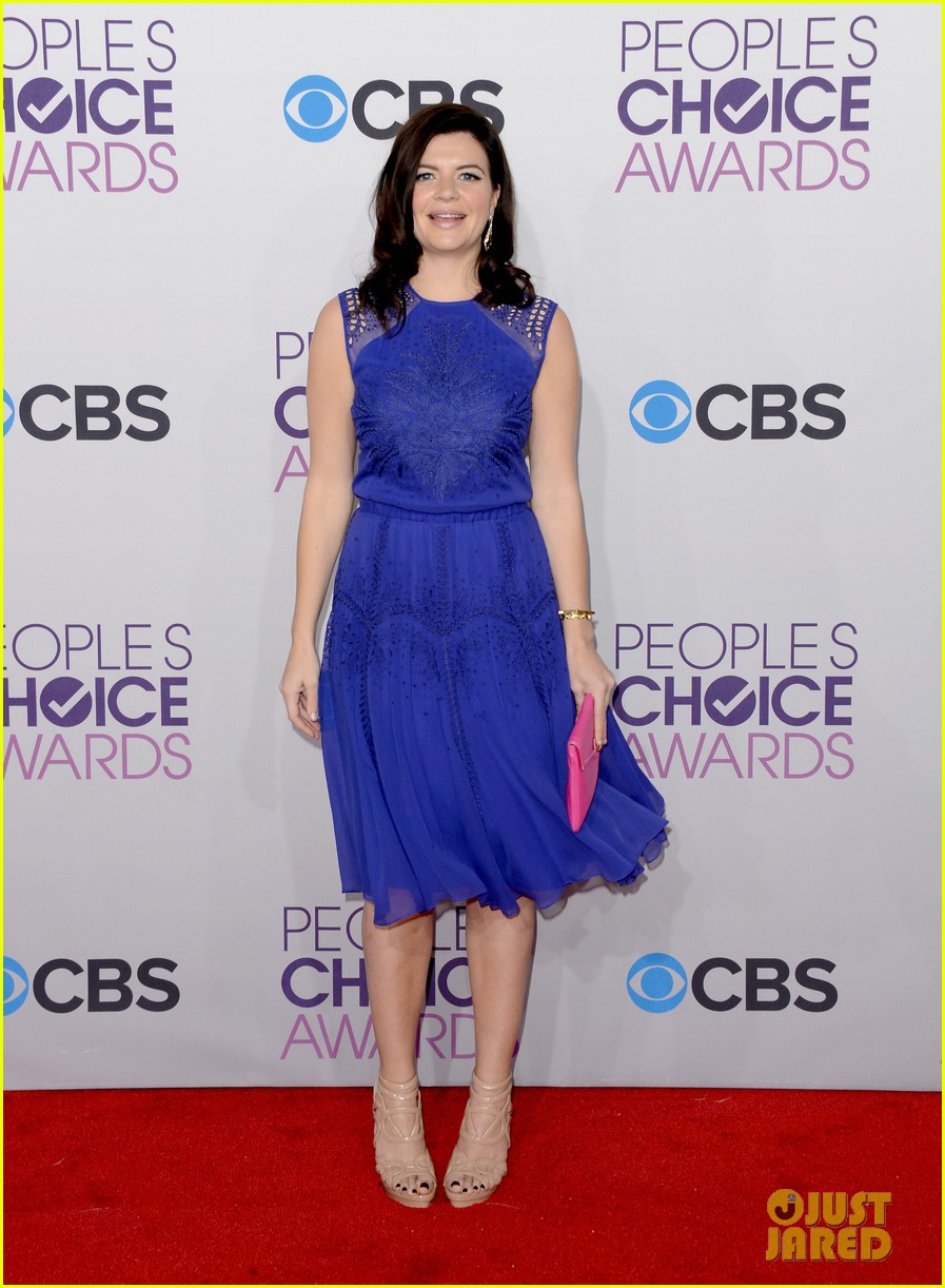 melissa rauch casey wilson peoples choice awards 2013 072787756
