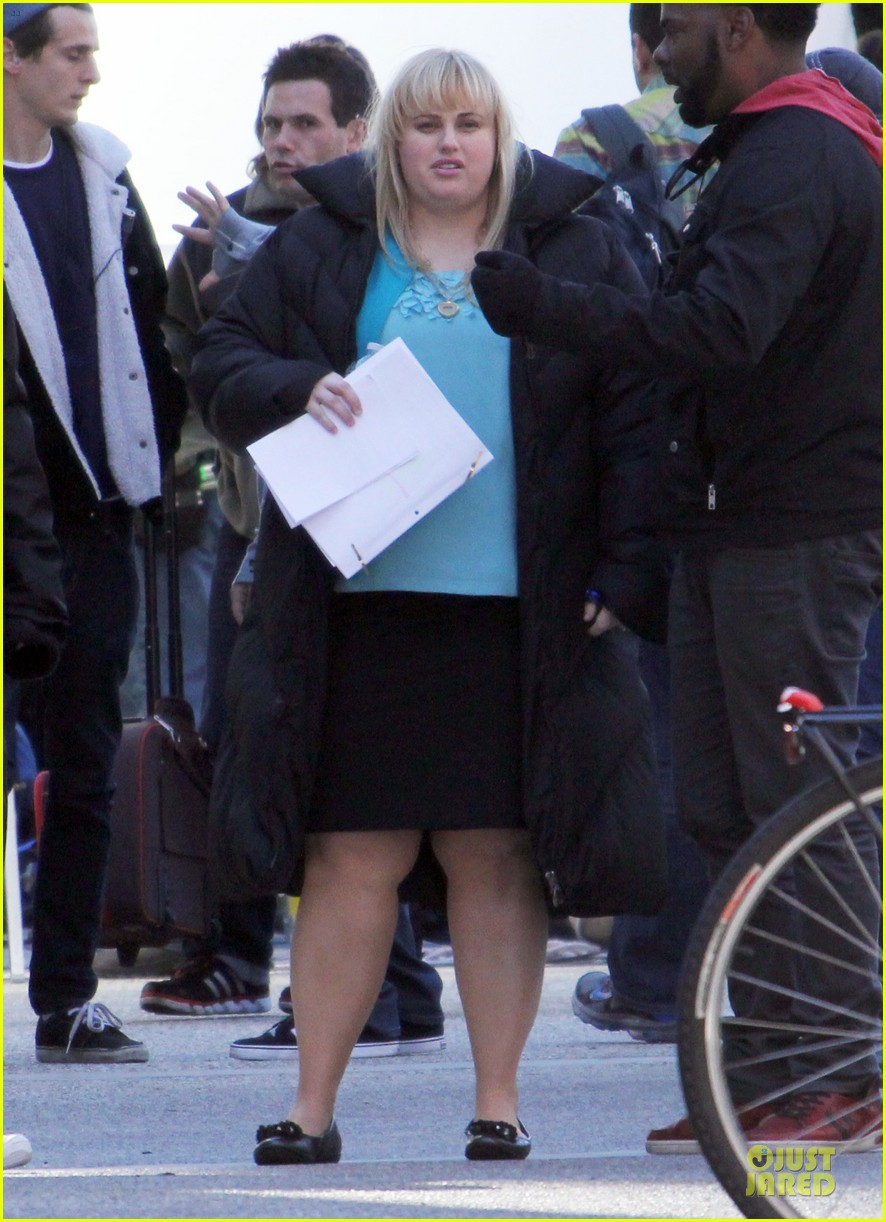 Rebel Wilson: 'Super Fun Night' Set!