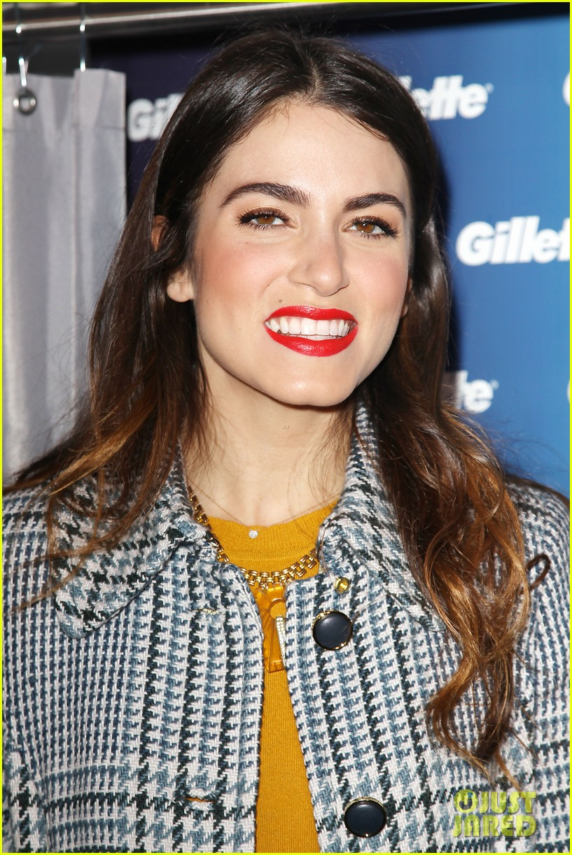 nikki reed kiss tell event for gillette 12