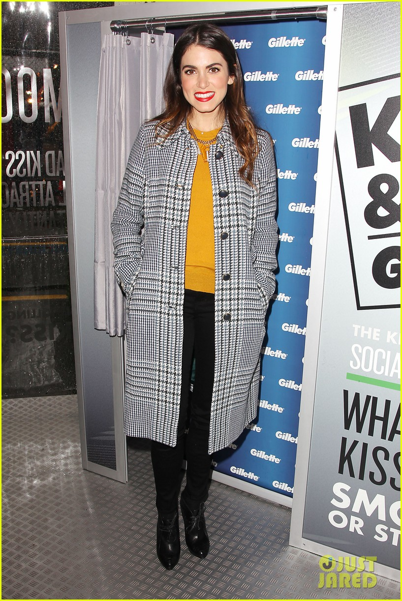 nikki reed kiss tell event for gillette 142793230