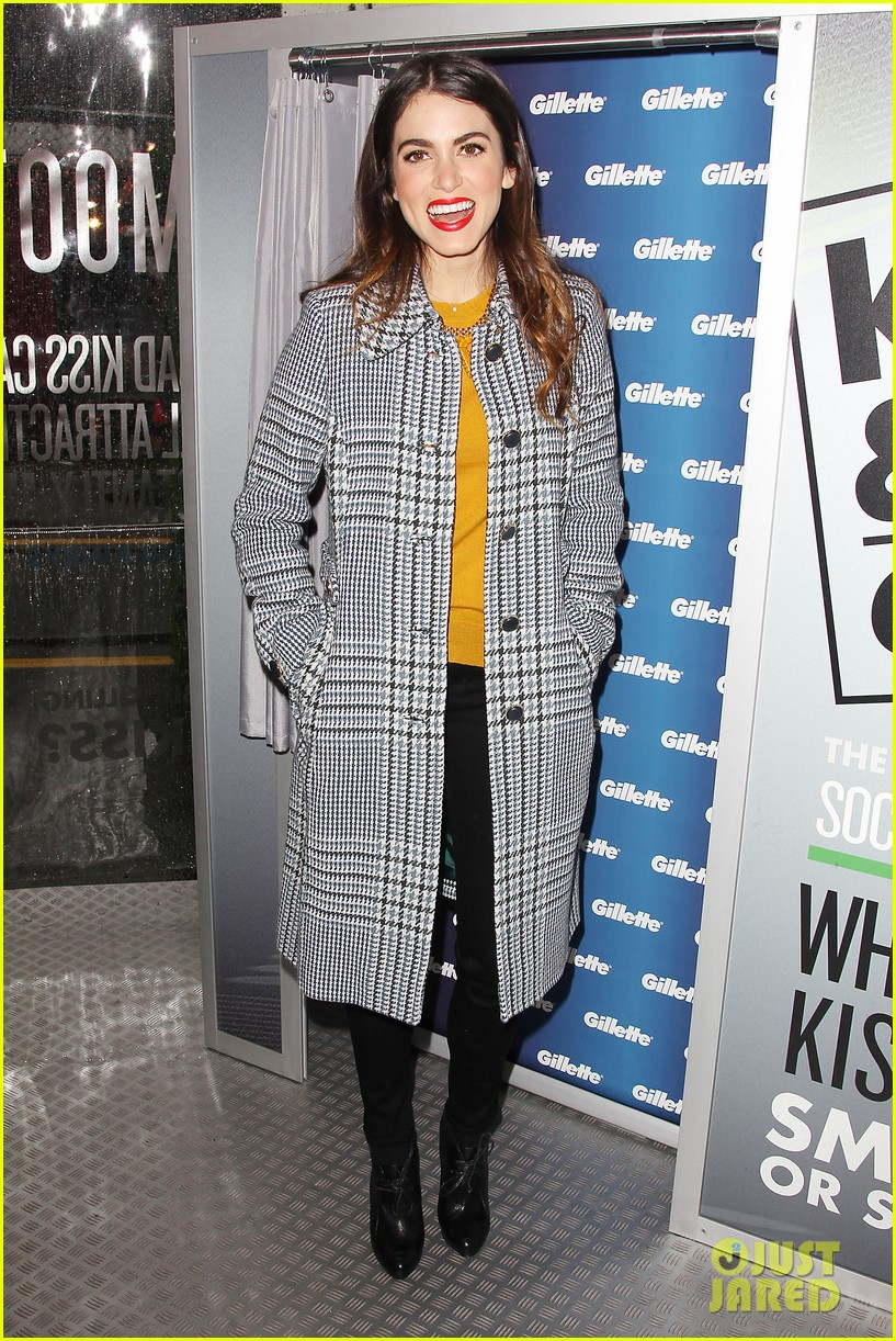 nikki reed kiss tell event for gillette 172793233