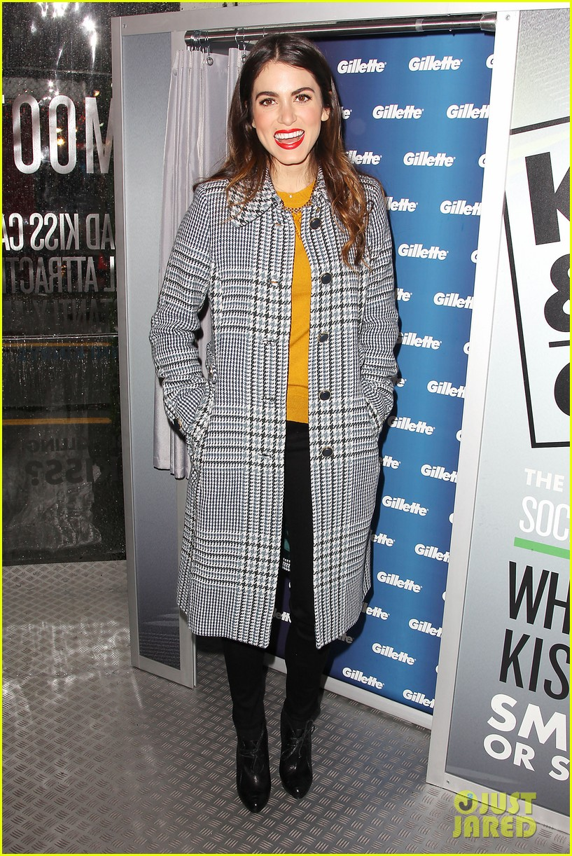 nikki reed kiss tell event for gillette 192793235