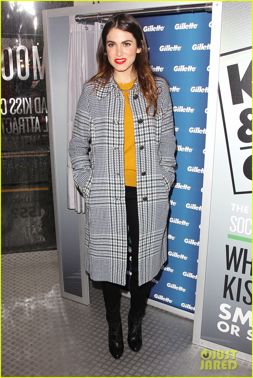 nikki reed kiss tell event for gillette 202793236