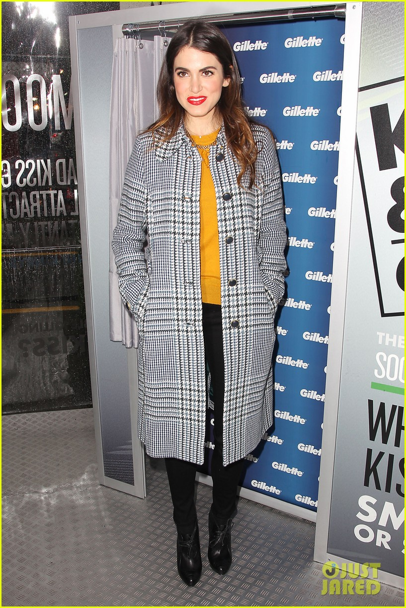 nikki reed kiss tell event for gillette 212793237