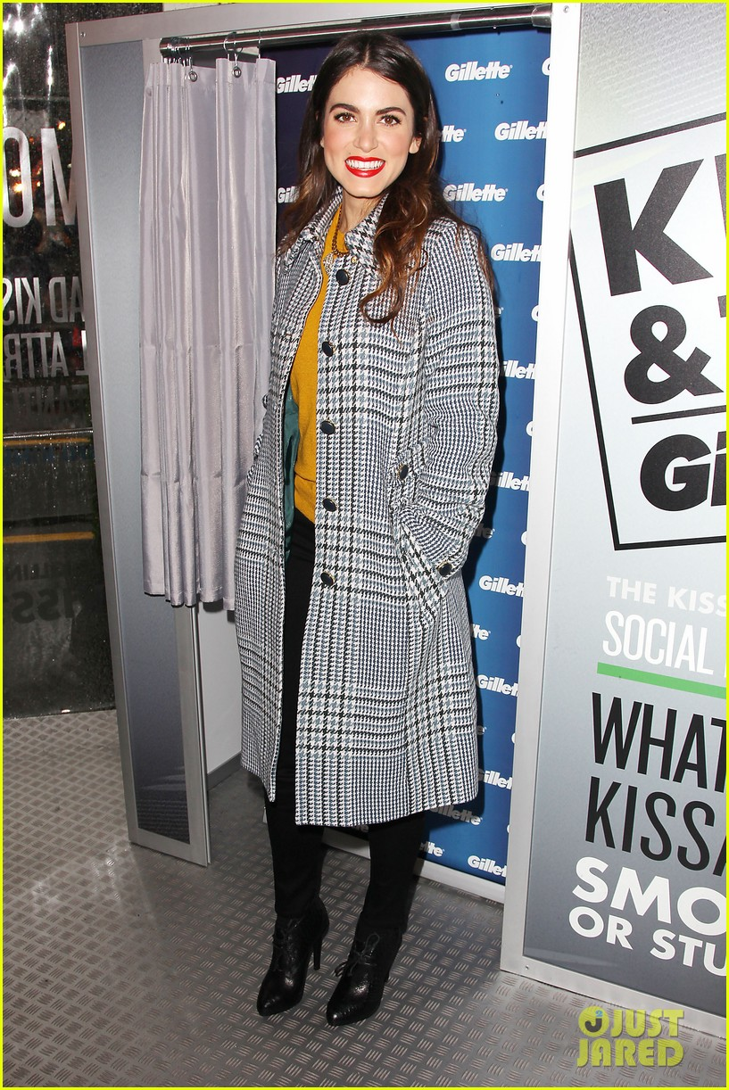nikki reed kiss tell event for gillette 222793238