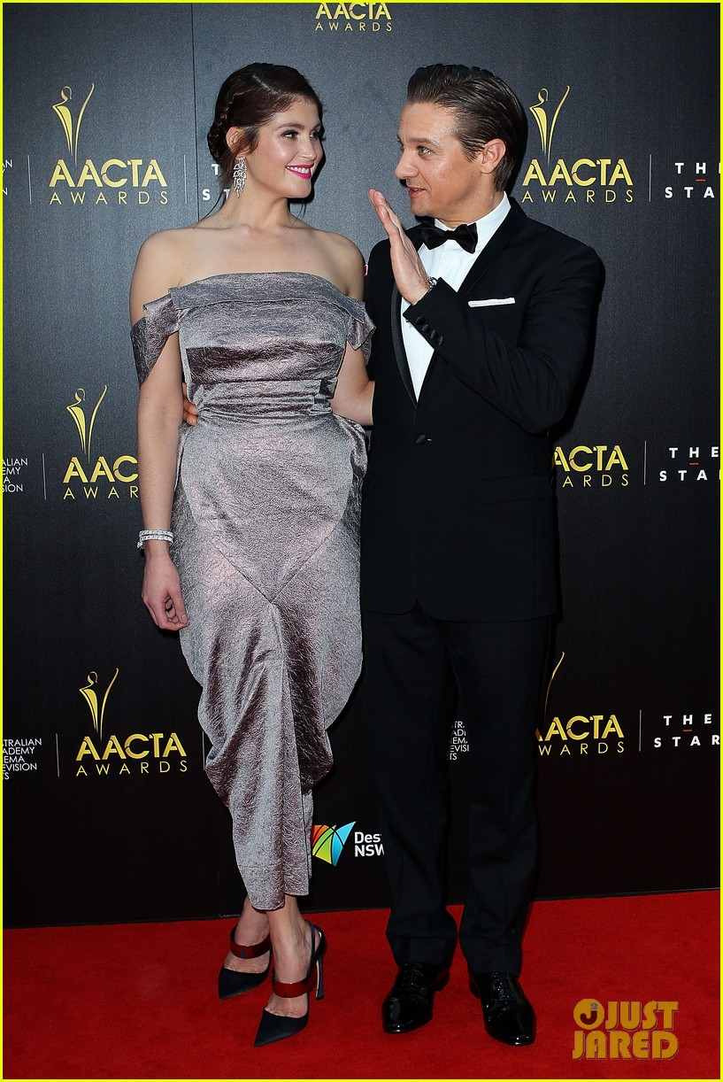 jeremy renner gemma arterton aacta awards attendees 102801218