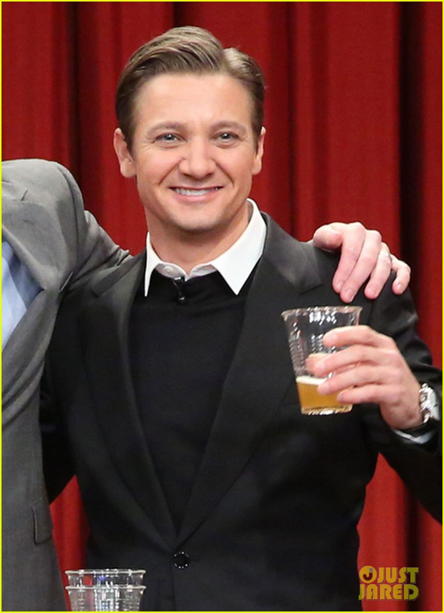Jeremy Renner: 'Fallon' Appearance After Baby News: Photo ...