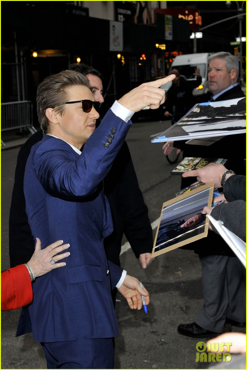jeremy renner late show appearance 042793722