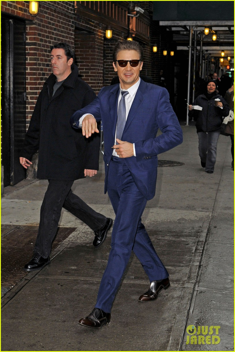 jeremy renner late show appearance 052793723