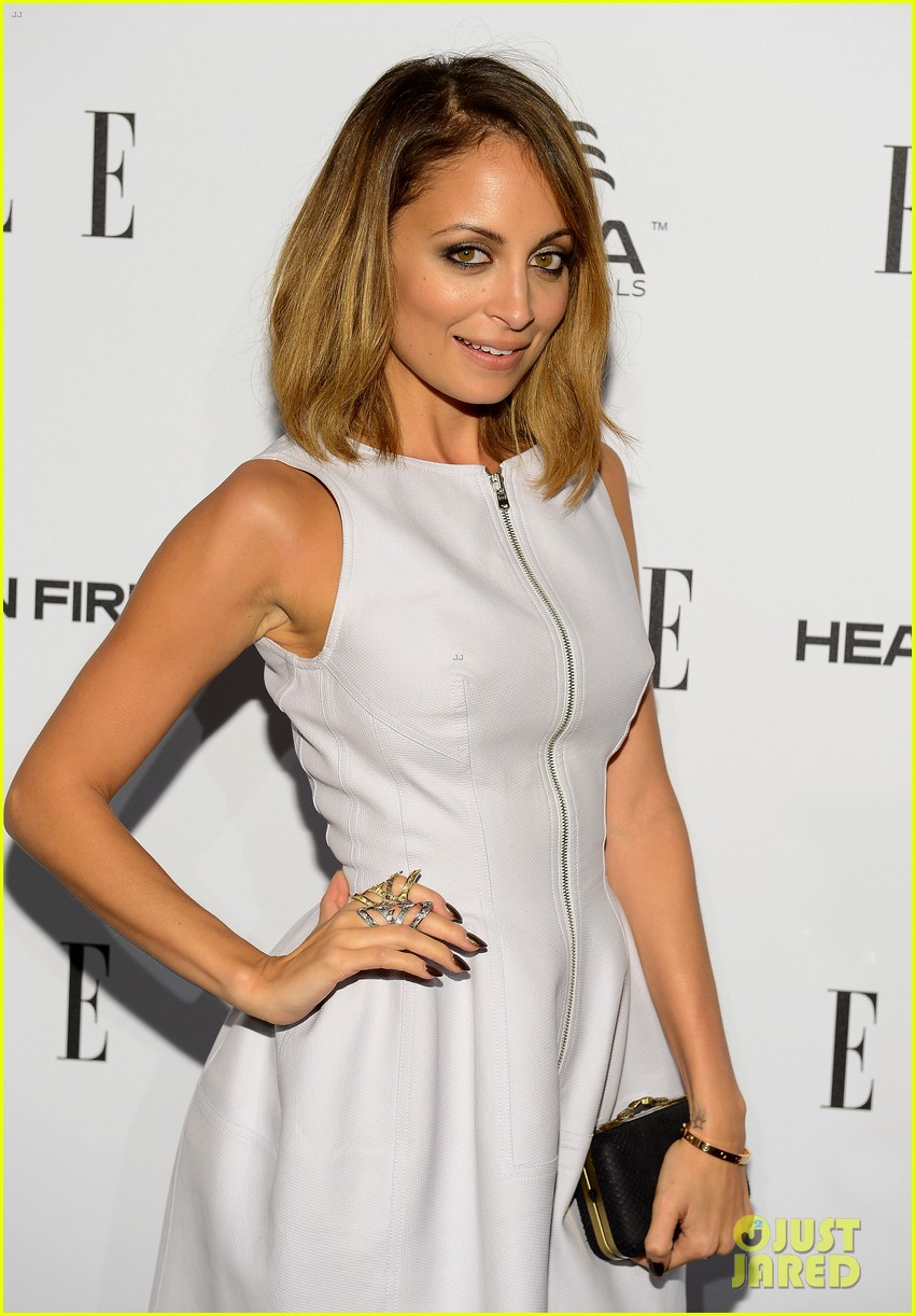 nicole richie morena baccarin elles women in tv party 022798336