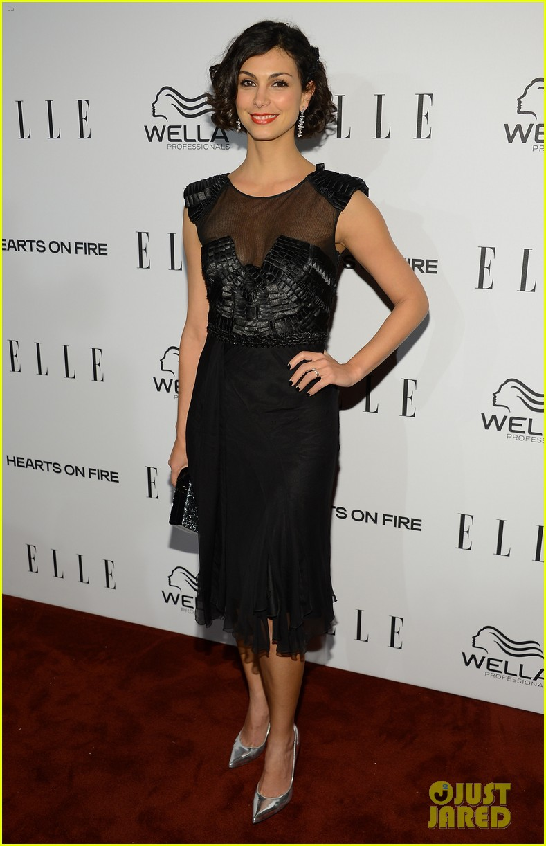 nicole richie morena baccarin elles women in tv party 03