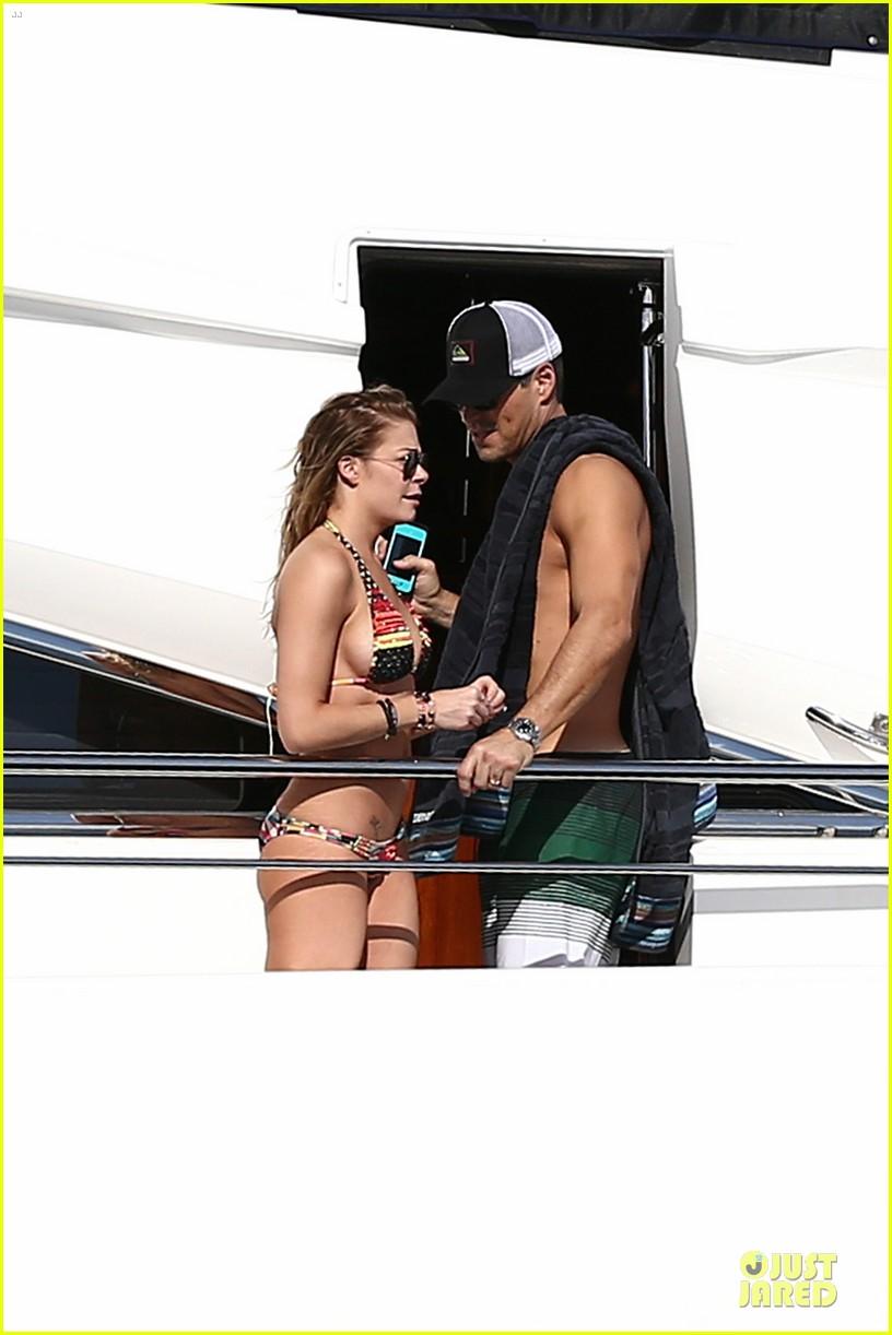 leann rimes bikini kissing with shirtless eddie cibrian 112783356
