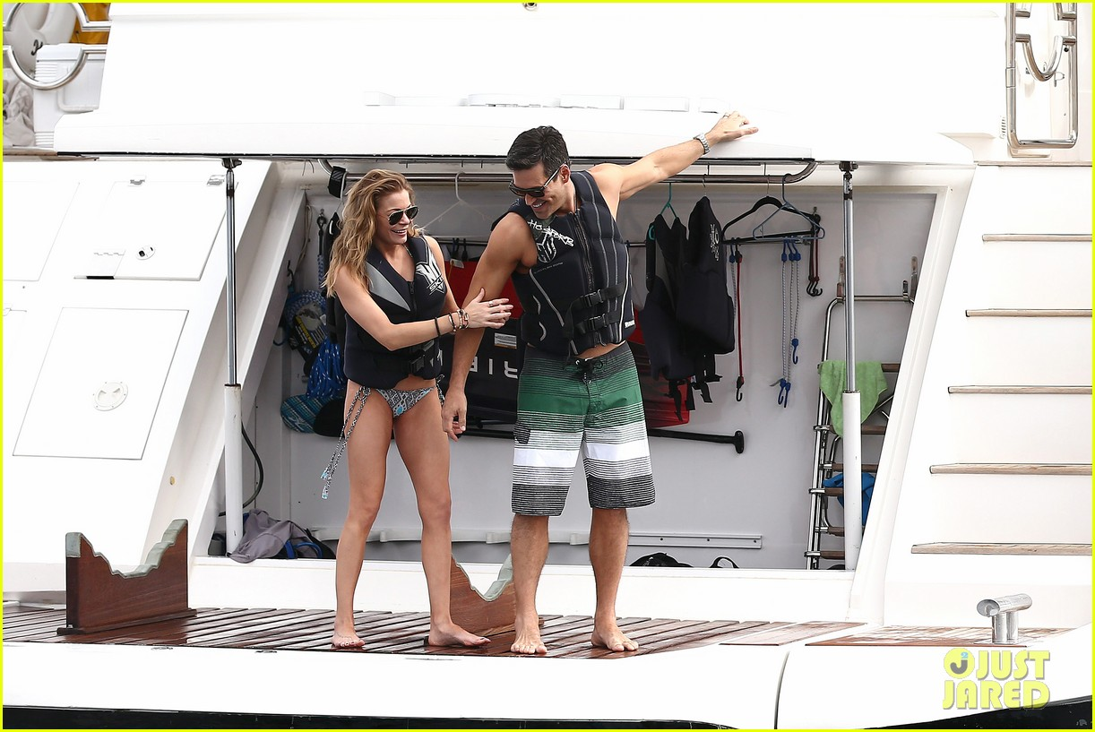 leann rimes eddie cibrian new years eve swimming in cabo 072783737