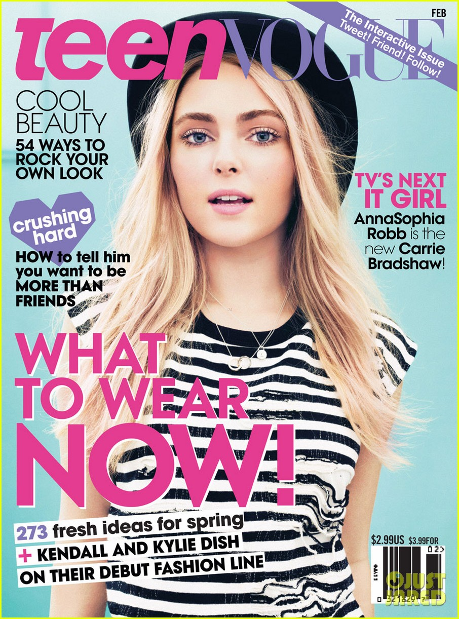 AnnaSophia Robb Covers 'Teen Vogue' February 2013: Photo ...