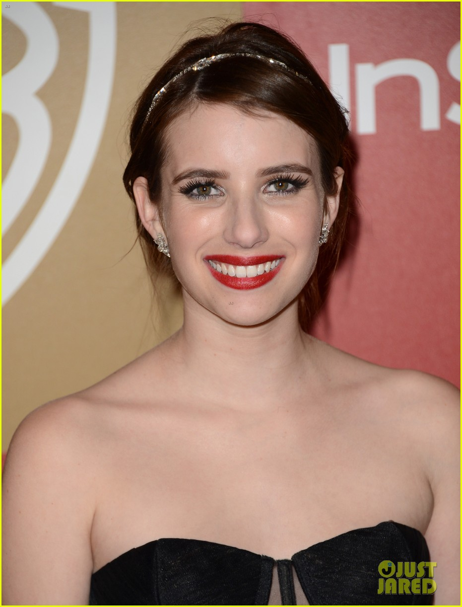emma roberts instyle party 102792014