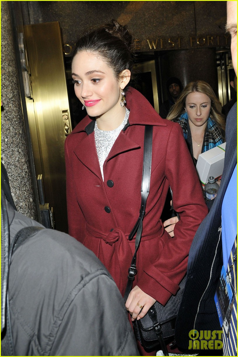 emmy rossum late night with jimmy fallon appearance 062793133