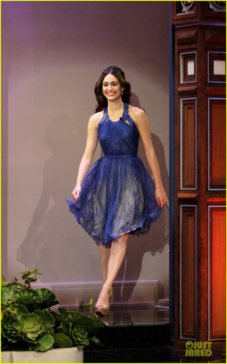 emmy rossum tonight show with jay leno appearance 01