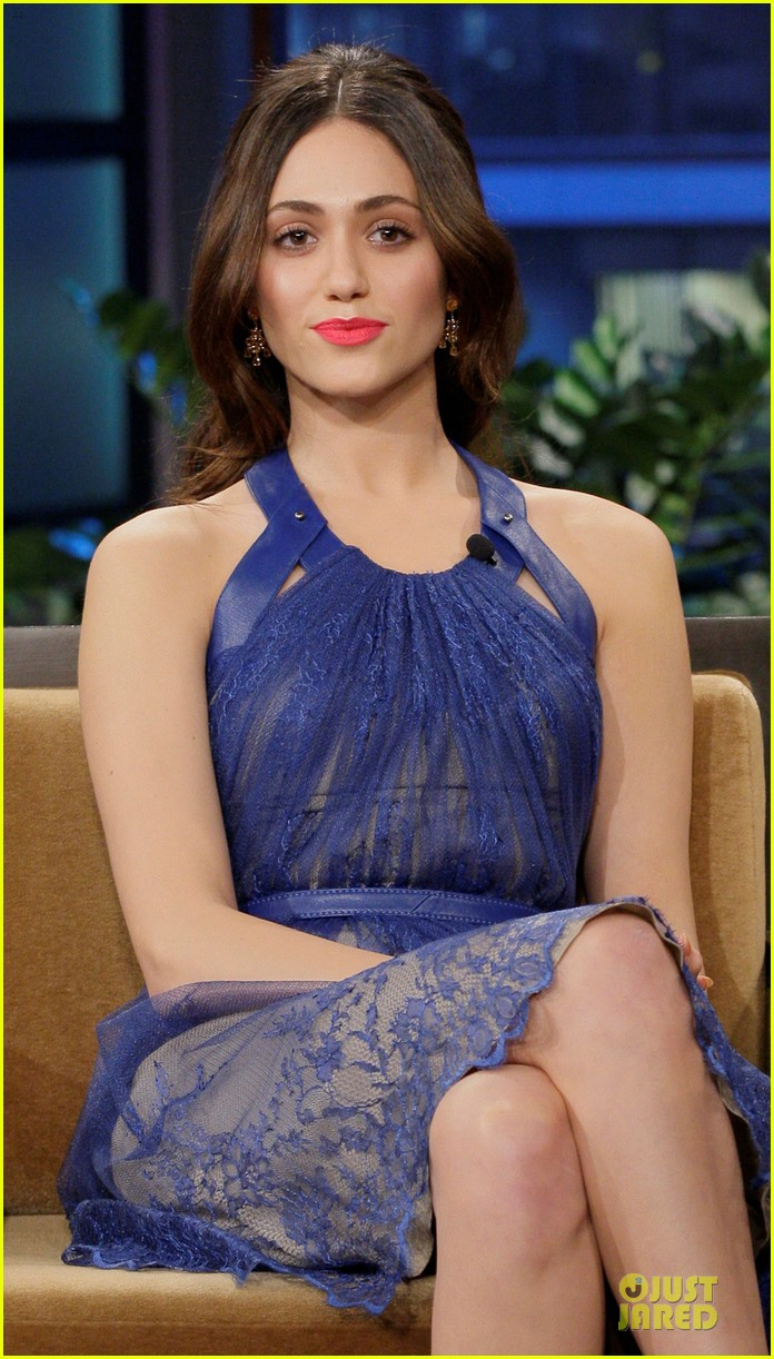 emmy rossum tonight show with jay leno appearance 022797003