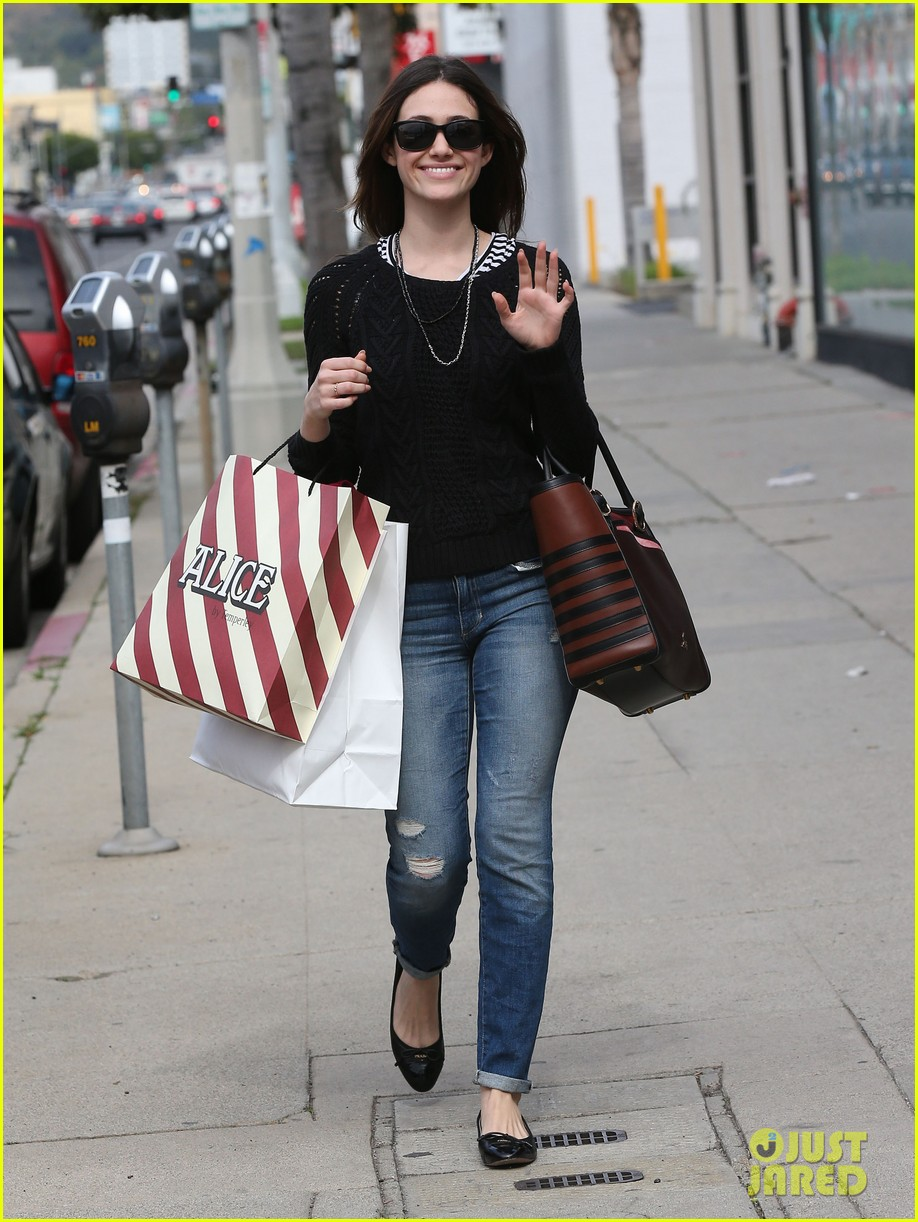 emmy rossum sentimental journey in stores next week 092798088
