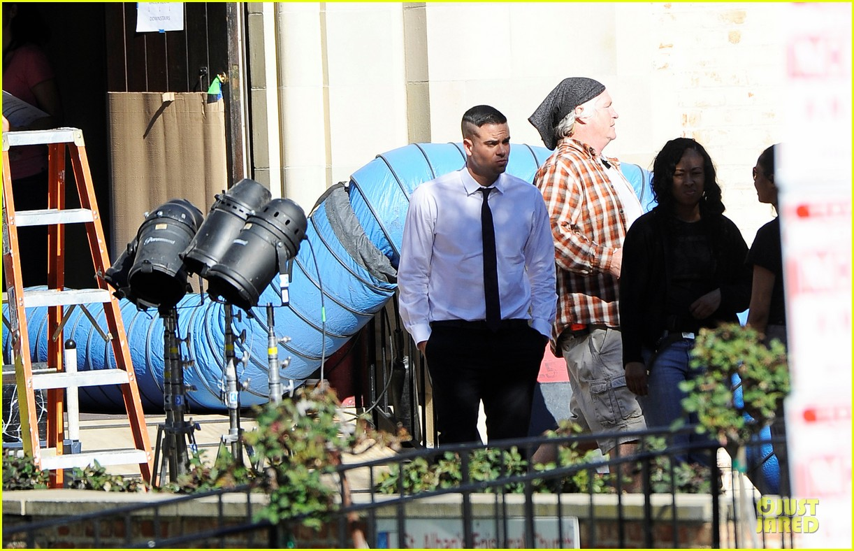 mark salling films glee amid sexual battery allegations 072794624