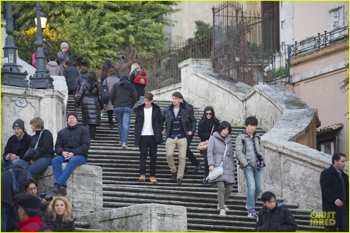 patrick schwarenegger rome sightseeing with jaimie alexander 022798649