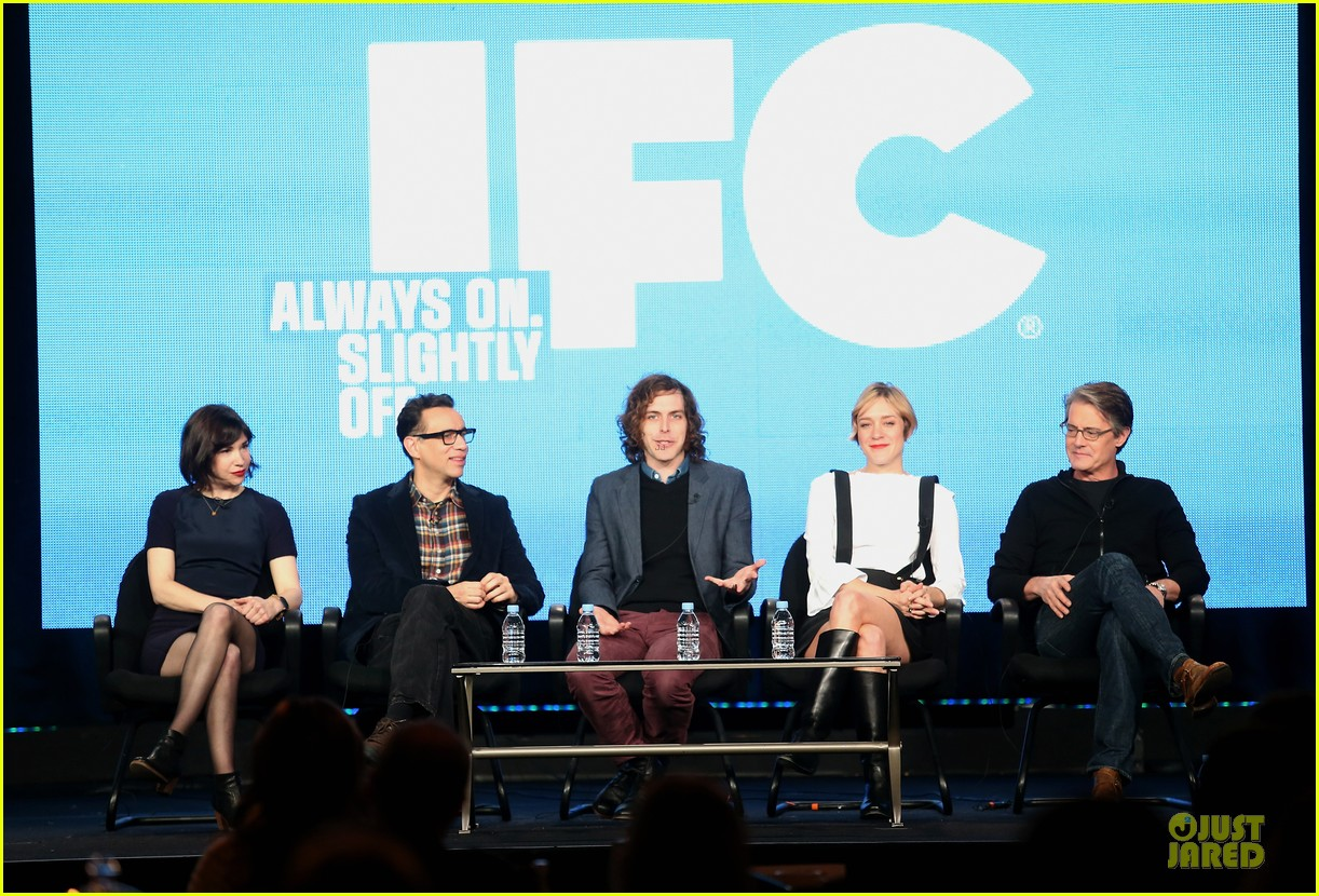 chloe sevigny & carrie brownstein porlandia tca panel 132785112