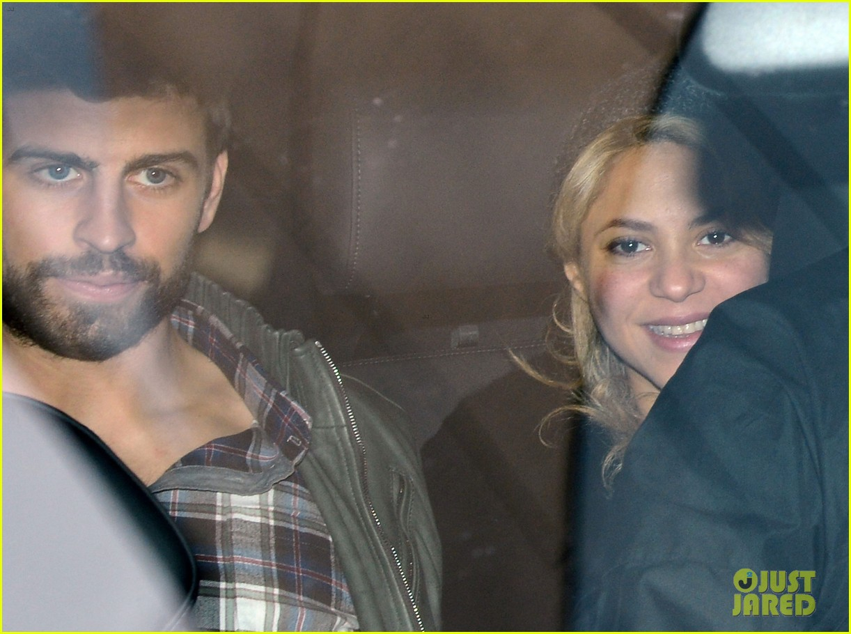 shakira gerard pique leave hospital with baby milan 032800145
