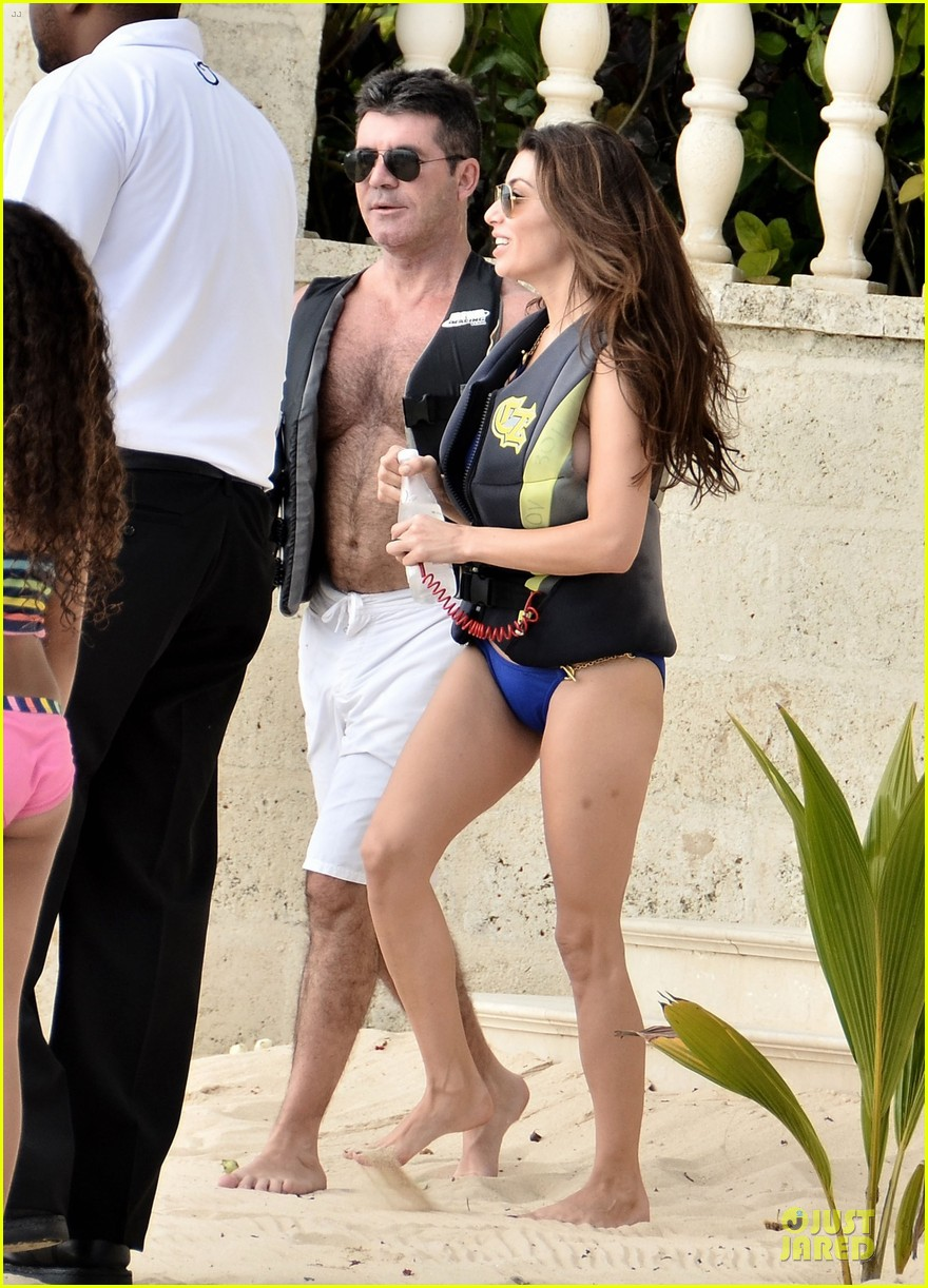 simon cowell shirtless new years eve with mezhgan huissany 012783282