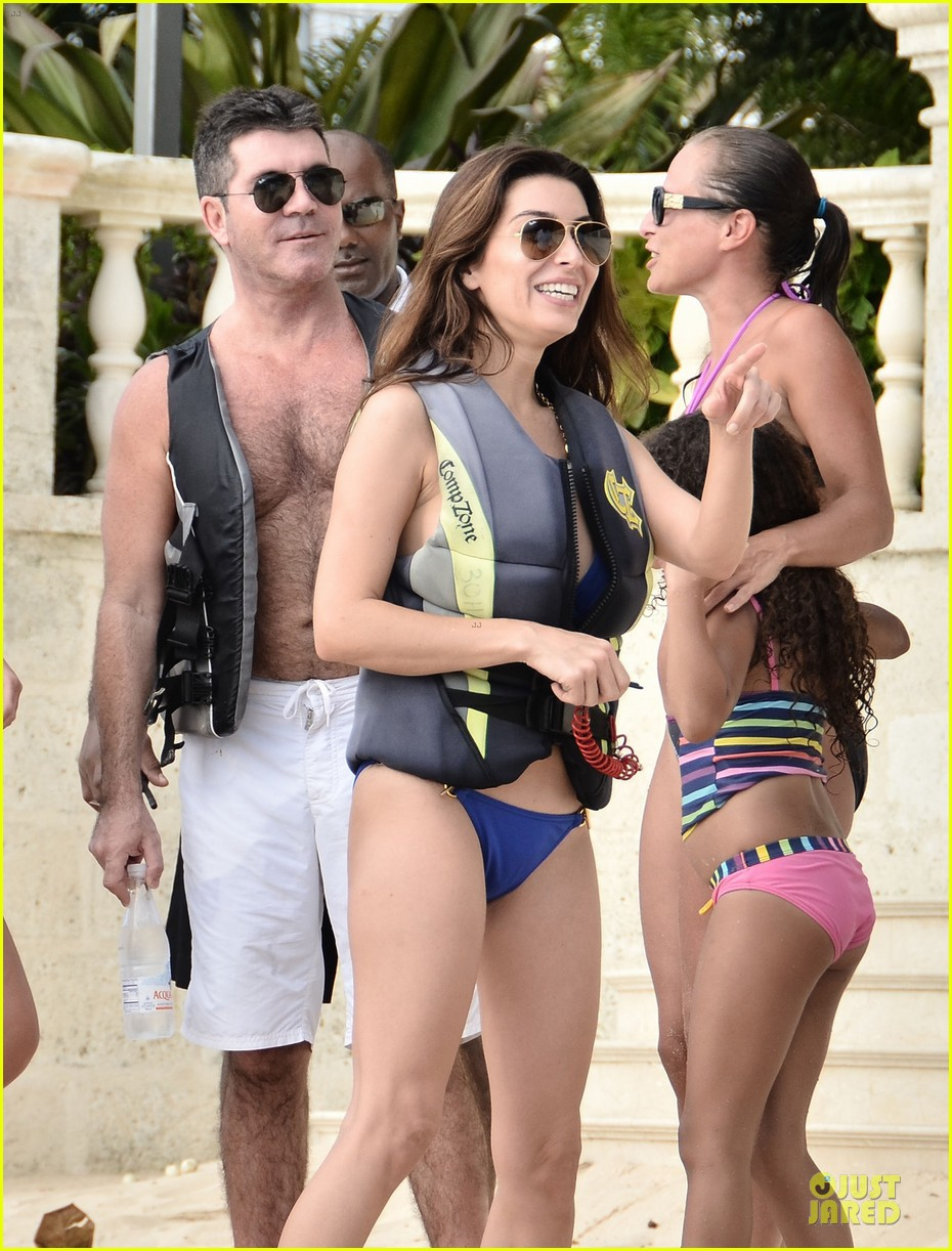 simon cowell shirtless new years eve with mezhgan huissany 022783283