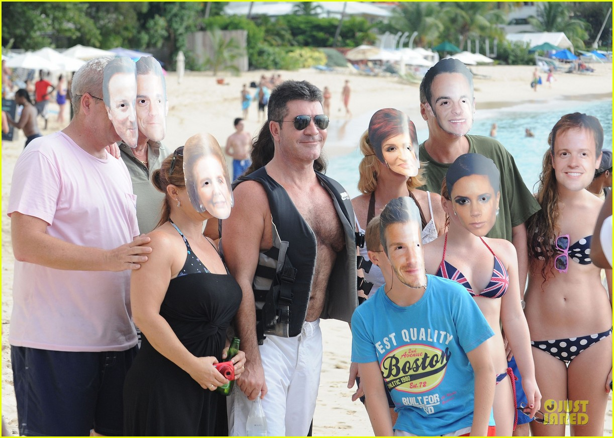 simon cowell shirtless new years eve with mezhgan huissany 302783311