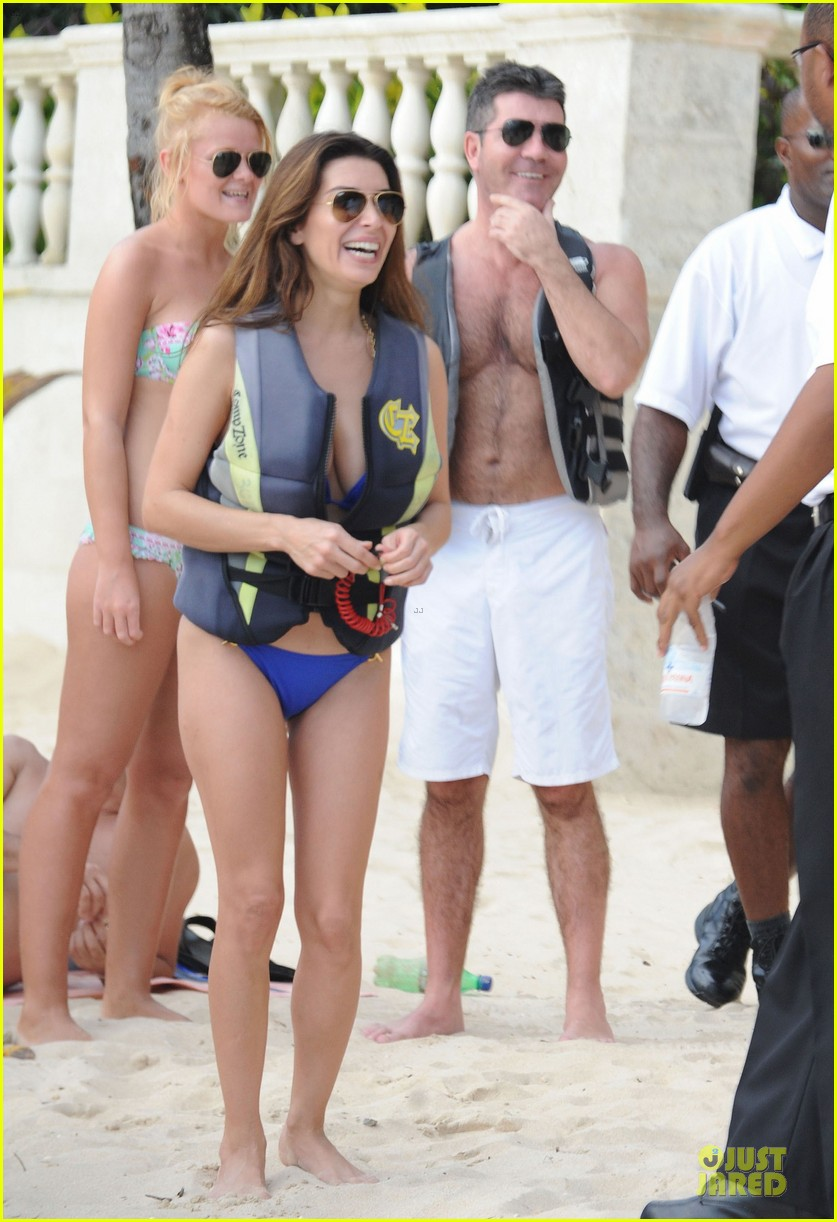 simon cowell shirtless new years eve with mezhgan huissany 312783312