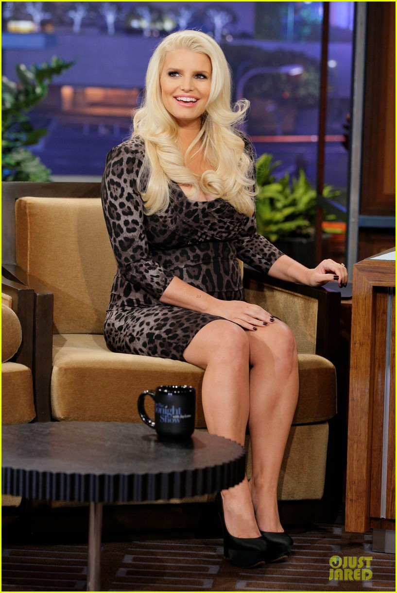 jessica simpson tonight show with jay leno appearance 032793018