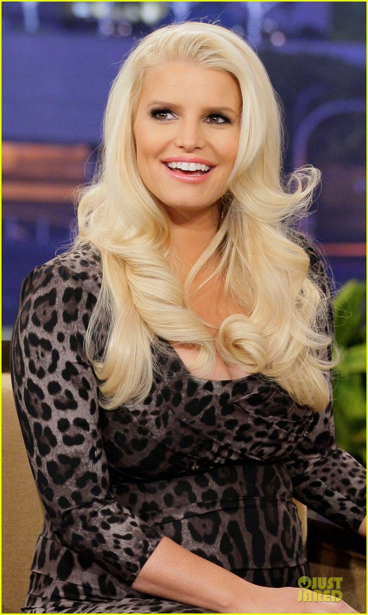 jessica simpson tonight show with jay leno appearance 042793019