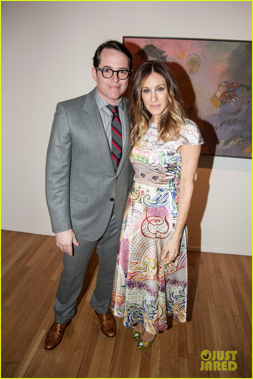 sarah jessica parker celebrates patricia brodericks paintings 032796730