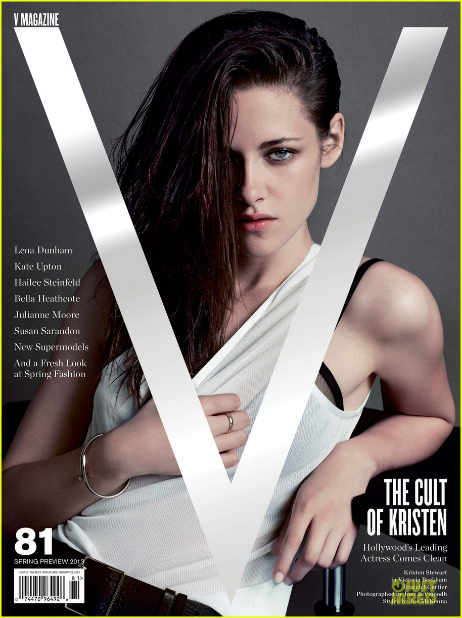 kristen stewart covers v magazine 10