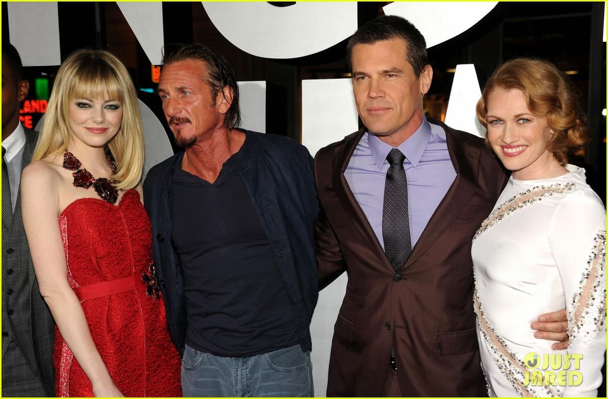 emma stone ryan gosling gangster squad premiere 202786611
